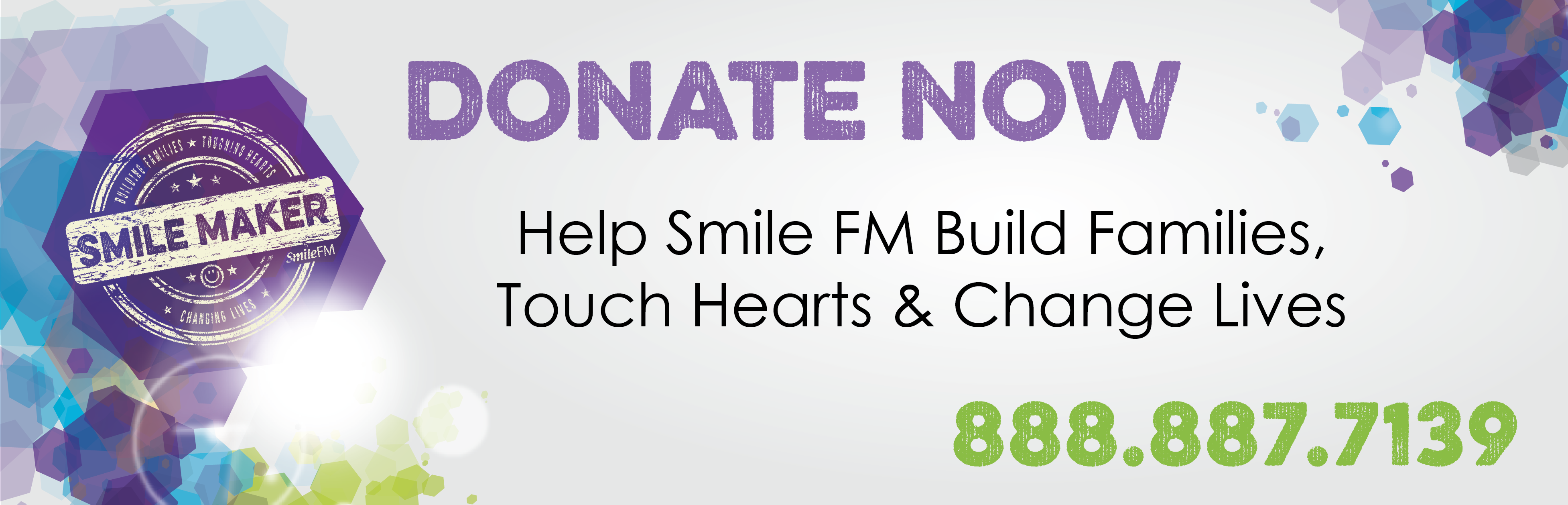 Smile FM Spring Fundrive - March 2020